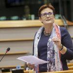 Birgit Sippel im Plenum – Oktober 2015