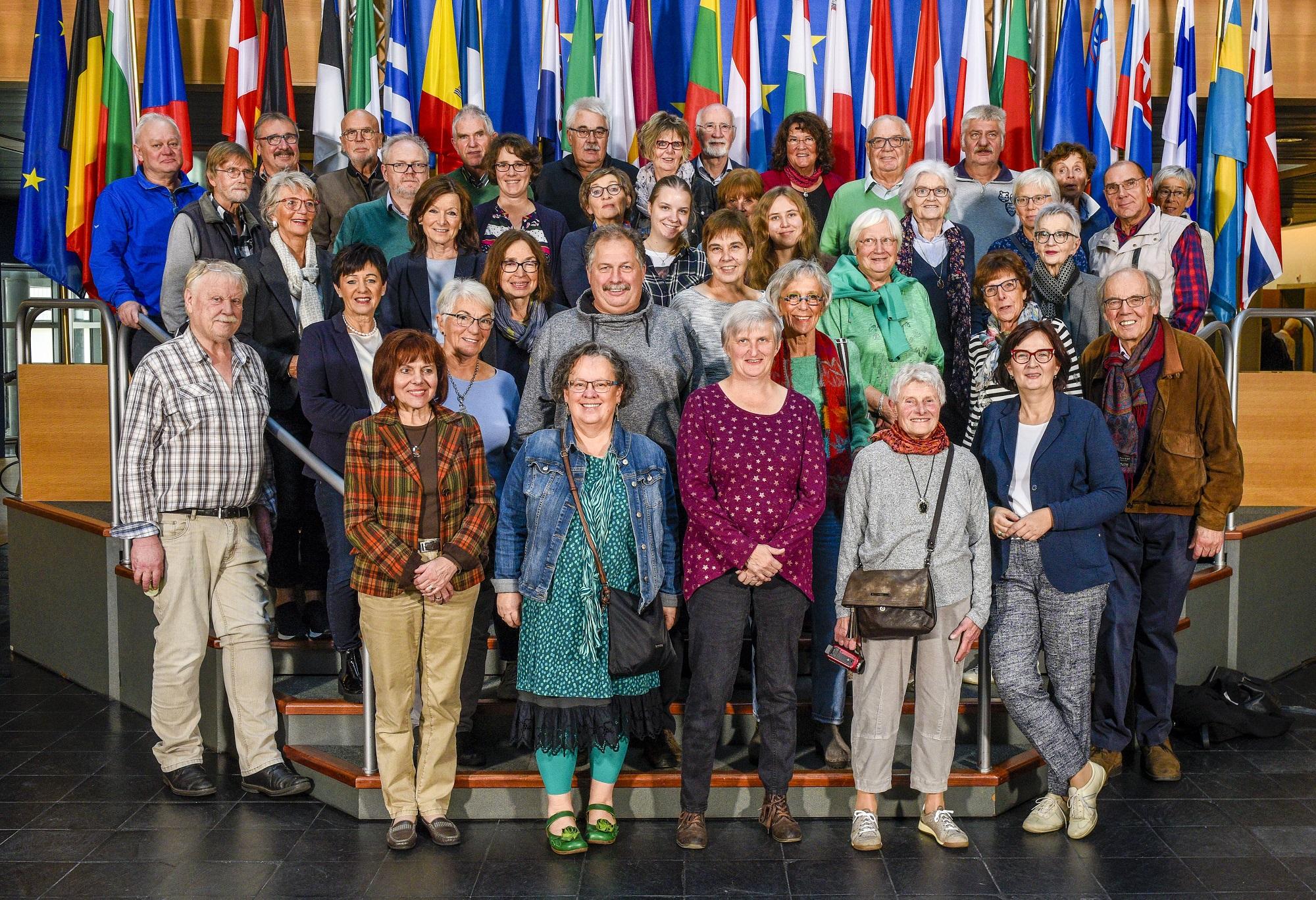 Besuchergruppe Straßburg Birgit Sippel Oktober 2019